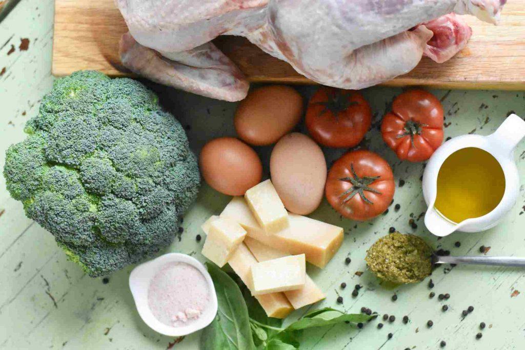 receta canasta de brócoli a la parmesana